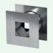 Ventilačné objímky kovové 1ks