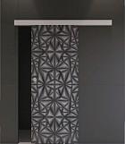 Posuvný systém pre sklenené dvere