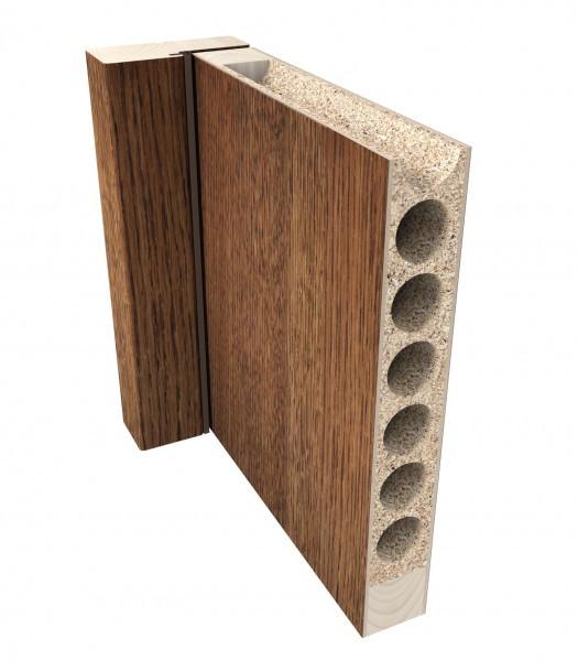 Výplň dierovaná drevotrieska- DTD